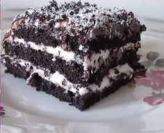 Easy Cake Recipe with Cocoa , Trifle Desserts, Strawberry Desserts, Dessert Bars, Easy Cake Recipes, Easy Desserts, Dessert Recipes, Cocoa Cake, Best Pasta Salad, Kakao