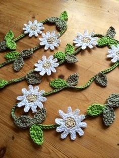 Daisy chain bunting Just Pootling