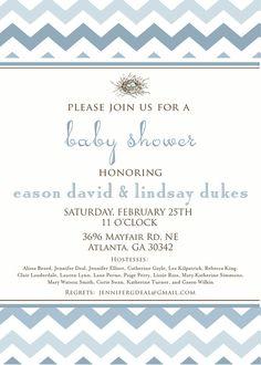 Baby Shower Invitation by camaddisondesigns on Etsy, $13.00