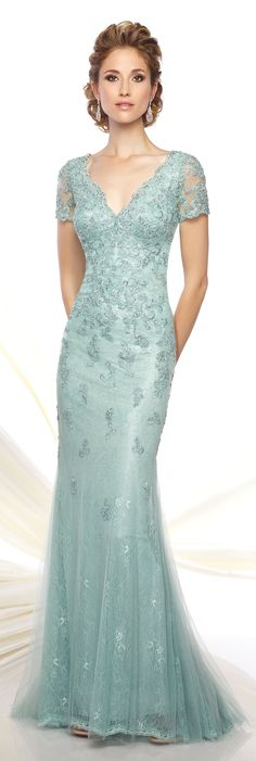 Formal Evening Gowns by Mon Cheri - Spring 2016 - Style No. 116D32 #eveninggowns