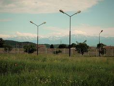 Berg, Wind Turbine, City