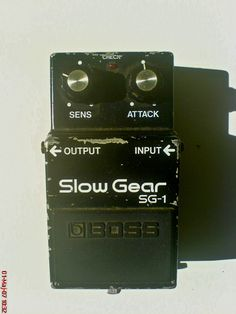 Probably the rarest vintage Boss pedal - Slow Gear SG-1
