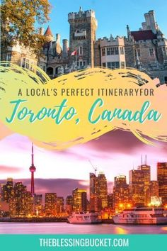 Fun Toronto Itinerary by a Local - 5 Days Worth of Exciting Things to Do  #toronto #torontocanada #canadatravel