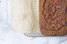 gluten free + dairy free cocoa banana loaf