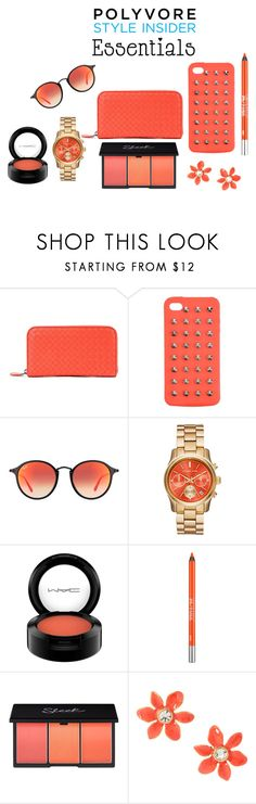"""""""Damn Cool"""" by mrudula-26 ❤ liked on Polyvore featuring beauty, Bottega Veneta, 4WE, Ray-Ban, MAC Cosmetics, Urban Decay, Kate Spade, contestentry, PVStyleInsiderContest and makeupbagstaples"""