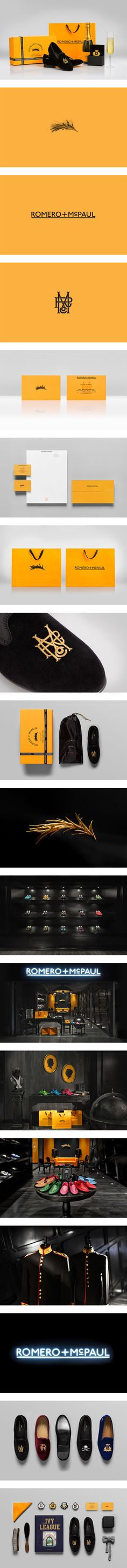 branding / identity | Romero+McPaul by Anagrama