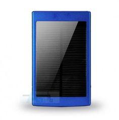 Solar Powered 80000 mAh Dual USB Power Bank Battery Charger For Phone Travel Use Solar Battery Charger, Solar Power, Usb, Phone, Travel, Telephone, Viajes, Solar Energy, Destinations