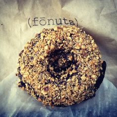 Fonuts!! Gluten Free & Vegan Chocolate Hazelnut deliciousness!