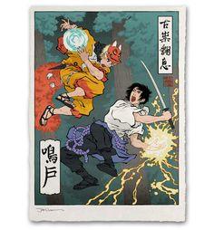 Unbreakable Bonds Giclée Print - Ukiyo-e Heroes