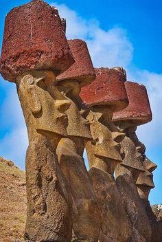 Moai statues on Easter Island - ep <3
