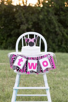 Minnie Mouse Inspired Oh Twodles Birthday High by SweetOrangeFox