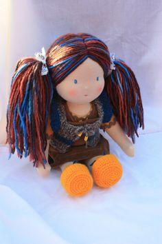 waldorf doll.