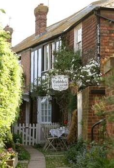 Tucked away down a cobbled side-street in the antiques-lovers' haven of Rye, is this traditionally British tearoom. You'd be forgiven for thinking you'd taken a wrong turn and walked into someone's living room when you open the front door, which leads straight into the reception room of a rose-covered cottage where wooden dressers display a collection of beautiful blue and white china. With the heavenly aromas of home cooked goodness that greet you, you can't help but make yourself at home.