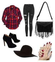 """""""inicios"""" by lucremora ❤ liked on Polyvore featuring Aéropostale, Topshop, Giuseppe Zanotti and American Apparel"""