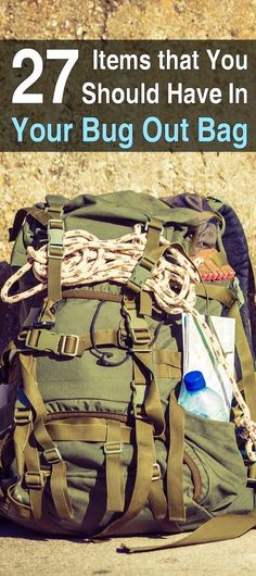 In order to keep your bug out bag light, you should pack it with multipurpose items. Here are 27 uses survival items every prepper should consider packing.