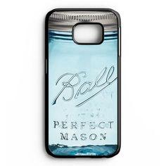 Mason Jar Samsung Galaxy S6 Edge Plus Case