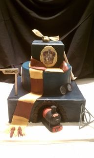 My poor child will have a Harry Potter themed birthday party every single year.