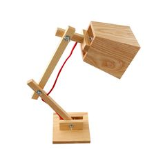 lamparas de escritorio de madera - Buscar con Google