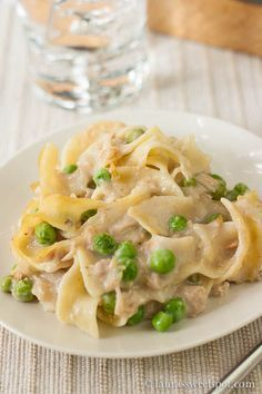 Good ol' Tuna Noodle Casserole at its' best!
