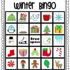 winter/Christmas bingo (winter, Christmas & Hanukkah images) 30 cards - great for a X-mas party
