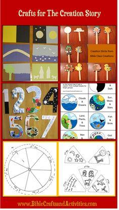 Sunday School Crafts For The Story Of Creation BibleCraftsandActivities
