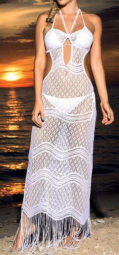 Lace Bikini Cover-Up