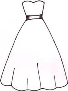 Wedding dress beautiful coloring page for girls printable free