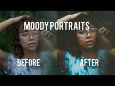 HOW TO EDIT MOODY PORTRAITS IN LIGHTROOM (Edit from Start to Finish) - YouTube