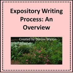 Expository Writing: An Overview for Middle and High School