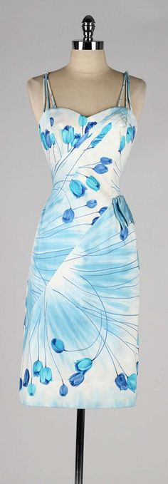 Vintage 1950's Alix of Miami Dress