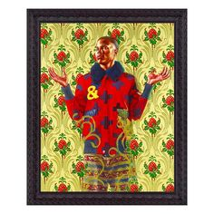 Saint Clement 2013. By the artist Kehinde Wiley. #art #artist #kehindewiley @stephenfriedmangallery by duroolowu
