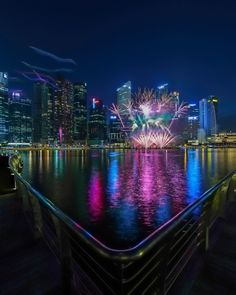 Fireworks by the Bay Singapore