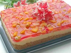 Frozen Desserts, Frozen Treats, Food Decoration, Hawaiian Pizza, Jello, Food Network Recipes, Sweet Recipes, Food To Make, Sweet Tooth