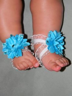 Baby barefoot sandal I'm making these!!!
