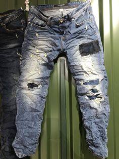 Denim Attire, Denim Outfit, Jeans Pocket, Ripped Jeans Men, Washed Denim, Recycled Denim, Jean Outfits, Denim Fashion, Distressed Jeans