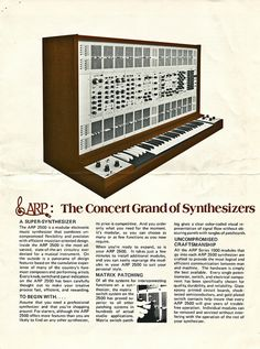The Concert Grand of Synthesizers | Flickr - Photo Sharing!