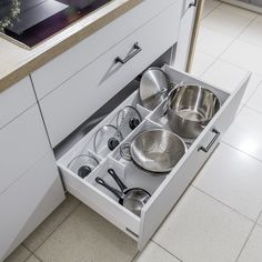Kuchnie nowoczesne | WFM KUCHNIE - meble kuchenne Kitchen Organization, Cool Kitchens, Stove, Kitchen Appliances, Kitchen Inspiration, House Styles, Kitchen, Small Kitchens, Kitchens
