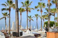 Nikki beach Marbella, 17 minutter med bil ifra huset.