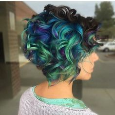 "5,983 Likes, 52 Comments - #MODERNSALON (Modern Salon) on Instagram: ""Pretty as a peacock feather by @glamrock_hair Thanks for tagging #modernsalon with this beauty!…"""