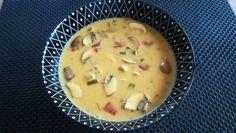 Hähnchen-Curry-Lauch-Suppe, ein schönes Rezept mit Bild aus der Kategorie Käse. 151 Bewertungen: Ø 4,8. Tags: gebunden, Geflügel, gekocht, Gemüse, Hauptspeise, Käse, Party, Pilze, Suppe