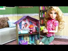 How to Make a Doll's Dollhouse | Plus Fun Finds: Toys for Dolls