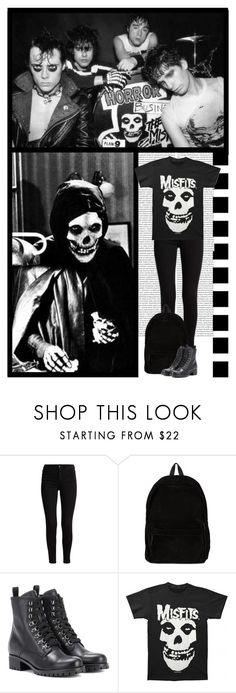 """""""CONTEST (read d) THE MISFITS (punk band)"""" by irresistible-livingdeadgirl ❤ liked on Polyvore featuring Ann Demeulemeester, Prada, Punk, band, misfits, alternative and themisfits"""