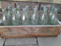 Vintage wooden crate  R 20.00
