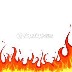Fire - flames - Stock Illustration Drawing Flames, Fire Drawing, Imprimibles Hot Wheels, Harley Davidson Posters, Flame Tattoos, Flame Design, Free Vector Illustration, Fire Art, Drawing Reference