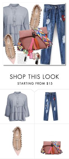"""""""#83"""" by aida-nurkovic ❤ liked on Polyvore featuring Valentino"""