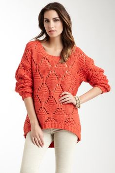 Cable Knit Sweater by American Vintage on @HauteLook
