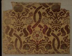 It's a Italian velvet but the son of the Ottoman Sultan's robe (Caftan).
