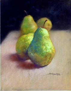 Pears by DreamLandForever on Etsy, $149.00 pastels
