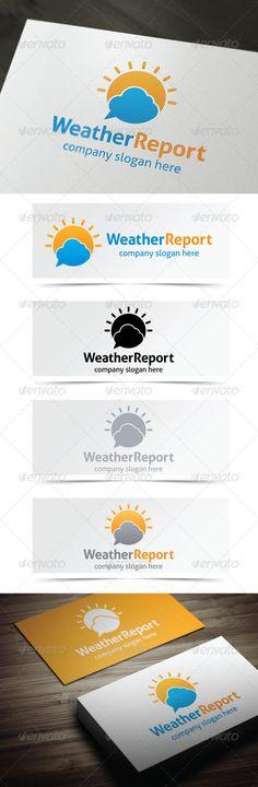 Weather Report  http://graphicriver.net/user/debo243/portfolio
