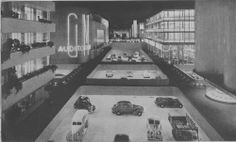 General Motors Highways and Horizons exhibit at the 1939-1940 New York World's Fair